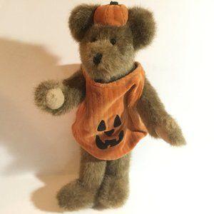 Boyds Bears Halloween Jack O Lantern Jointed 2001